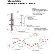 2181E.3 Z-bracket with Hidden Fasteners