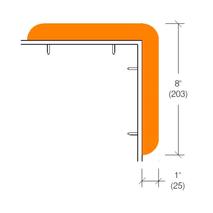 2228 Vinyl Corner Protectors For Carts, Cabinetry & Countertops
