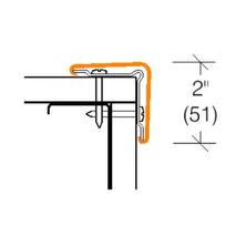 2305P Corner Guard w/Aluminum Retainer PVC FREE