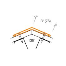 2315.1 ECONOMICAL 135° Angled Corner Guard