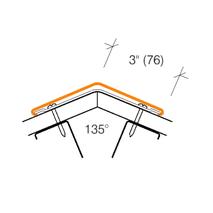 2315 - 135° Angled Corner Guard