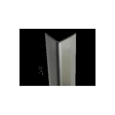 """18 gauge -1"""" Wings - Stainless Steel Corner Guard"""