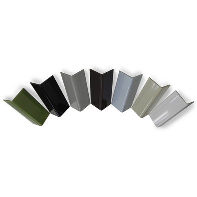 Colored Smooth Polycarbonate Corner Guard