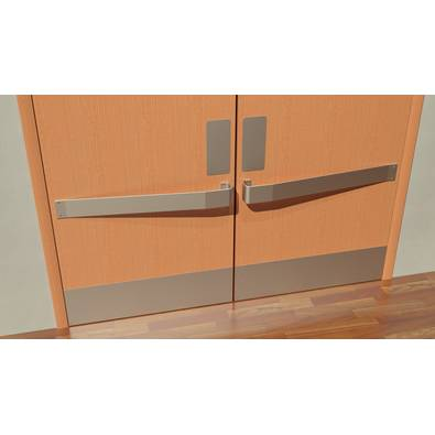 2181 DP - Stainless Door Protection