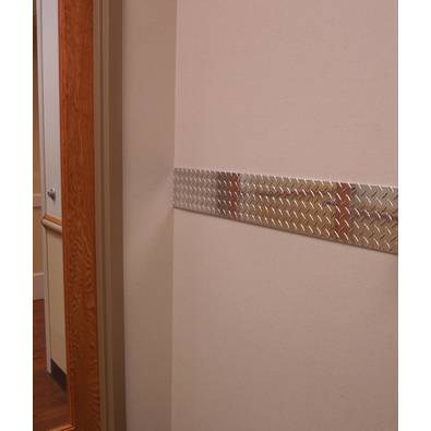 Diamond Plate Chair Rail