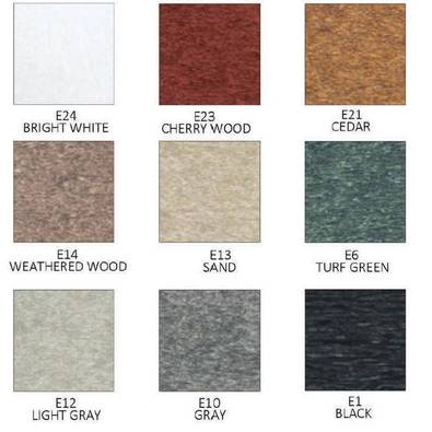 3010 & 3020 High-Density Polyethelene (HDPE) Colors