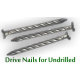 2335 Chrome Plated Drive Nails for Undrilled Installation